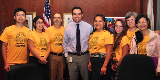 Meeting with staff of Assemblymember Bill Quirk, of Hayward