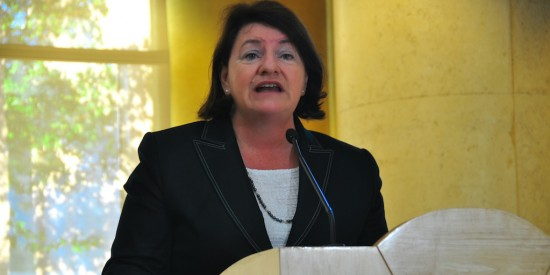 Day 2 Assembly Majority Leader Toni Atkins from San Diego