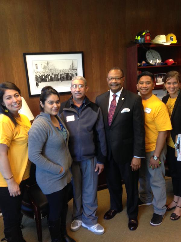 CEJA & CCAEJ with Assemblyman Reggie Jones-Sawyer
